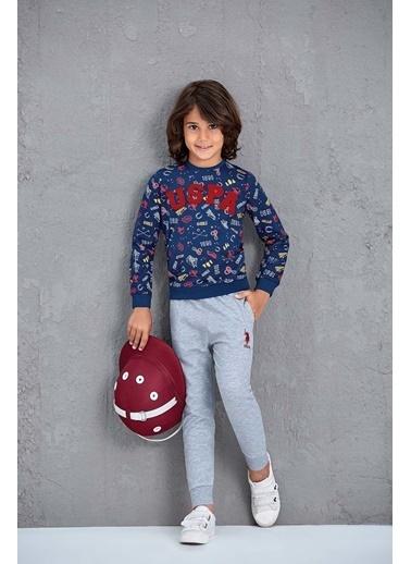 U.S. Polo Assn. Erkek Çocuk Eşofman Takımı Lacivert